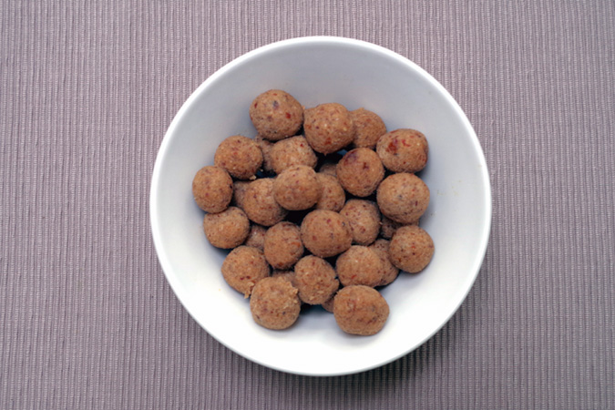 Picture of the nut balls