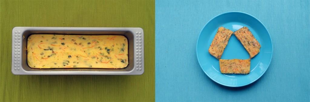 unephoto d'un gâteau de polenta