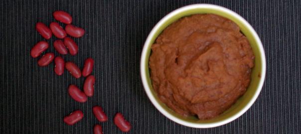 Purée de fèves rouges