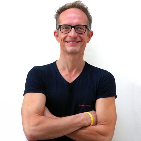 Foto van Peter Verhaegen, oprichter en docent bij Yoga Kitchen